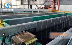 7米長鋁型材電泳涂裝案例